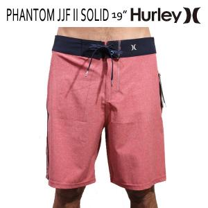 HURLEY,ハーレー/MENS,メンズ/ボードショーツ,海水パンツ/PHANTOM JJF II SOLID BOARDSHORT・19inch/6DLA・レッド/ジョンジョンシグネチャーモデル|selfishsurf