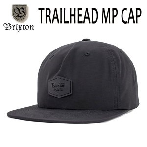 BRIXTON、ブリクストン/17FA/CAP,キャップ/TRAIHEAD MP CAP/BLACK・ブラック/フリーサイズ/アウトドア/軽量 selfishsurf