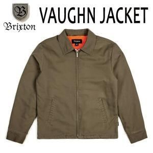 BRIXTON・ブリクストン/17FA/ガレージジャケット・中ボアジャケット・アウター/VAUGHN JACKET/MOSS・モス/S・Mサイズ selfishsurf