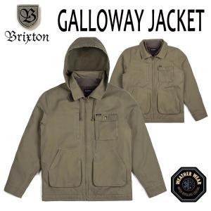 BRIXTON・ブリクストン/17FA/ミリタリージャケット・アウター・3WAY/GALLOWAY JACKET/OLIVE・オリーブ/S・Mサイズ selfishsurf