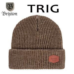 BRIXTON,ブリクストン/17FA/ニット帽・ニットキャップ/TRIG BEANIE/フリーサイズ/HEATHER MOSS・ヘザーモス selfishsurf