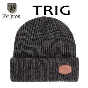 BRIXTON,ブリクストン/17FA/ニット帽・ニットキャップ/TRIG BEANIE/フリーサイズ/WASHED BLACK/BLACK・ブラック selfishsurf