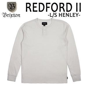 BRIXTON,ブリクストン/17FA/ L/S tee,長袖ヘンリーネックTシャツ/REDFORD L/S HENLEY/OFF WHITE・オフホワイト/(USサイズ)S・Mサイズ selfishsurf