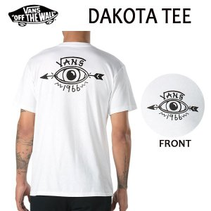 VANS,バンズ/18SP/ S/STee,半袖Tシャツ/DAKOTA T-SHIRT・CLASSIC FITライン/WHITE・ホワイト/S・Mサイズ|selfishsurf