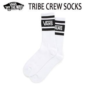 VANS,バンズ/SOCKS・靴下・ソックス/TRIBE CREW SOCKS/WHITE・ホワイト/24.5-27cm/27.5-30cm・2サイズ/メンズ|selfishsurf