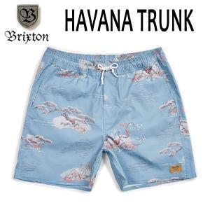 BRIXTON,ブリクストン/19SP/水陸両用/BOARDSHORTS・ボードショーツ・サーフトランクス・水着/HAVANA TRUNK/BLUE DREAM・ブルー/メンズ|selfishsurf
