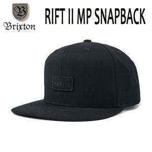 BRIXTON,ブリクストン/19SP/CAP,キャップ/RIFT II MP SNAPBACK・リフト/BLACK・ブラック/フリーサイズ|selfishsurf