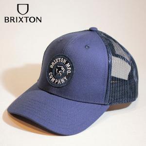 BRIXTON,ブリクストン/21SU/CAP・メッシュキャップ/FORTE X MP MESH CAP/WASHED NAVY・ネイビー/フリーサイズ/リサイクルマテリアル/bureo|selfishsurf