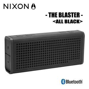 NIXON,ニクソン/ポータブルワイヤレススピーカー/THE BLASTER/NH028001-00/ALL BLACK,オールブラック|selfishsurf