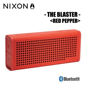 NIXON,ニクソン/ポータブルワイヤレススピーカー/THE BLASTER/NH028383-00/RED PEPPER,レッド|selfishsurf