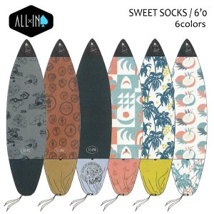 ALL-IN,オールイン/サーフボードケース,ニットケース/SWEET SOCKS/6'0
