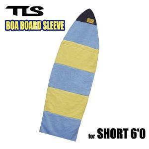 TOOLS,トゥールス/2014年Newカラー/BOA BOARD SLEEVE SHORT 6'0/ボアボードスリーブ/ショートボード用ボードケース/ブルー/ホワイト|selfishsurf