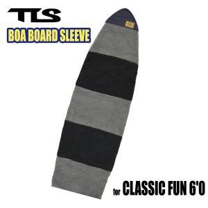 TOOLS,トゥールス/2014年Newカラー/BOA BOARD SLEEVE CLASSIC FUN 6'0/ボアボードスリーブ/クラシックファンボード用ボードケース/ブラック/グレー|selfishsurf