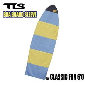 TOOLS,トゥールス/2014年Newカラー/BOA BOARD SLEEVE CLASSIC FUN 6'0/ボアボードスリーブ/クラシックファンボード用ボードケース/ブルー/ホワイト|selfishsurf