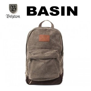 BRIXTON,ブリクストン/2014年SPRING/BACKPACK・バックパック・リュックサック/BASIN BACK PACK/TAUPE/ベージュ|selfishsurf