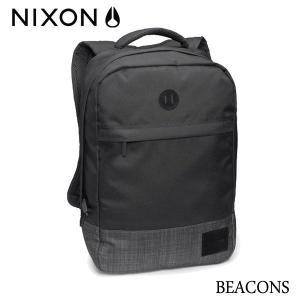 NIXON,ニクソン/2014年SUMMER/BACKPACK・バックパック・リュックサック/BEACONS/18L/NC21901627-00/BLACK/BLACK WASH・ブラック×ブラックウォッシュ|selfishsurf