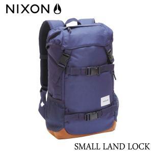 NIXON,ニクソン/JAPAN LIMITEDモデル/BACKPACK・バックパック・リュックサック/SMALL LANDLOCK/16L/NC2256307-00/NAVY・ネイビー|selfishsurf