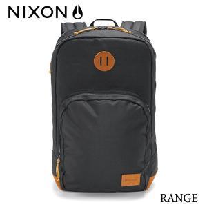 NIXON,ニクソン/BACKPACK・バックパック・リュックサック/RANGE/18L/NC2390000-00/BLACK|selfishsurf