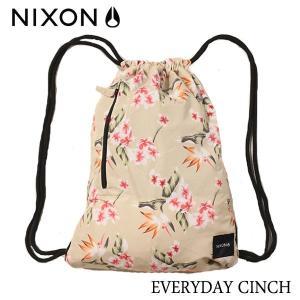 NIXON,ニクソン/ナップサック・シンチバッグ/EVERYDAY CINCH BAG/NC24291787-00/PARADISE・パラダイス|selfishsurf