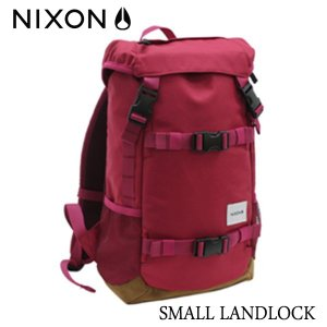 NIXON,ニクソン/JAPAN LIMITEDモデル/BACKPACK・バックパック・リュックサック/SMALL LANDLOCK/16L/NC22562329-00/DARK CHERRY・ダークチェリー|selfishsurf