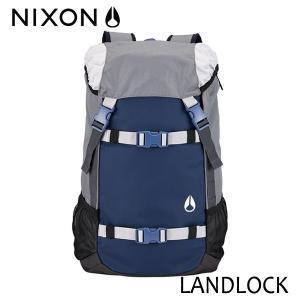 NIXON,ニクソン/2017年SPRING/BACKPACK・バックパック・リュックサック/LANDLOCK 2/33L/NC19531476-00/NAVY/GRAY・ネイビー×グレー|selfishsurf