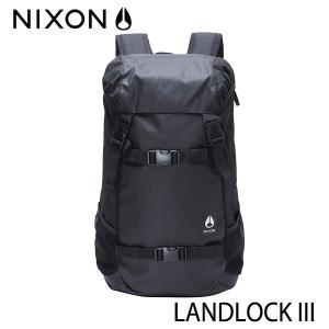 【P10倍】NIXON,ニクソン/BACKPACK・バックパック・リュックサック/LANDLOCK 3/33L/NC2813000-00/BLACK・ブラック/ユニセックス/日本正規代理店品|selfishsurf
