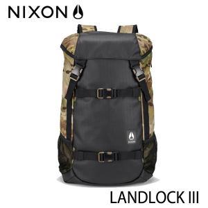 【P10倍】NIXON,ニクソン/BACKPACK・バックパック・リュックサック/LANDLOCK 3/33L/NC28132865-00/MULTICAM・ブラック×カモフラージュ/ユニセックス|selfishsurf