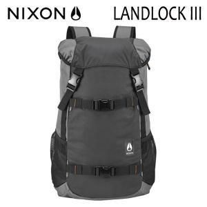 【P10倍】NIXON,ニクソン/BACKPACK・バックパック・リュックサック/LANDLOCK 3/33L/NC2813131-00/GUNMETAL・ガンメタル/ユニセックス|selfishsurf