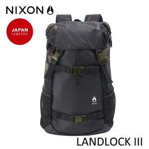 NIXON,ニクソン/BACKPACK・バックパック・リュックサック/LANDLOCK 3/33L/NC28133111-00/BLACK/MULTI CAMO BLACK/カモ柄/迷彩/ブラック/ユニセックス|selfishsurf