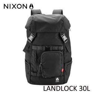 NIXON,ニクソン/バックパック・リュックサック/LANDLOCK 30L BACKPACK/NC29501148-00 ALL BLACK NYLON/ブラックナイロン/ユニセックス|selfishsurf