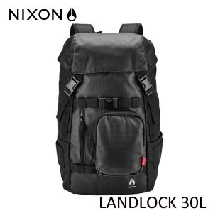 NIXON,ニクソン/バックパック・リュックサック/LANDLOCK 30L BACKPACK/NC2950004-00/BLACK/BLACK/ブラック/ユニセックス|selfishsurf