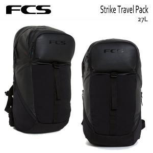 FCS,エフシーエス/バックパック/STRIKE/TRAVEL PACK/27L/BLACK・ブラック/サーフィン/ユニセックス/日本正規代理店品|selfishsurf
