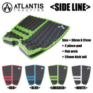 ATLANTIS TRACTION,アトランティス/デッキパット,デッキパッチ/SIDE LINE,サイドライン/4カラーからお選びください|selfishsurf