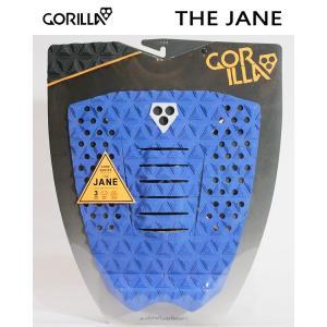 GORILLA GRIP,ゴリラグリップ/デッキパット,デッキパッチ/18NEW/THE JANE/SLATE・ブルー/3ピースパッド/サーフィン/サーフボード selfishsurf