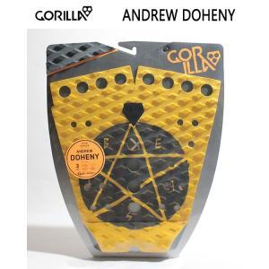 GORILLA GRIP,ゴリラグリップ/デッキパット,デッキパッチ/18NEW/DOHENY/BEAST・マスタードイエロー/3ピースパッド/サーフィン/サーフアクセサリー selfishsurf