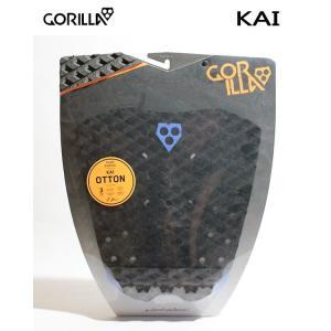 GORILLA GRIP,ゴリラグリップ/デッキパット,デッキパッチ/18NEWカラー/KAI/BLACKER/3ピースパッド/サーフィン/サーフアクセサリー selfishsurf