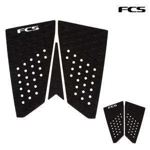FCS,エフシーエス/デッキパット,デッキパッチ/21/T-3 FISH TRACTION/3ピース/BLACK・ブラック/日本正規代理店品/サーフィン/サーフボード/フィッシュボード|selfishsurf