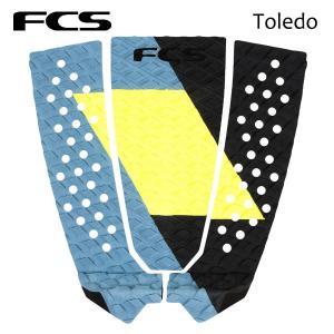 FCS,エフシーエス/デッキパット,デッキパッチ/21/FILIPE TOLEDO TRACTION/3ピース/DARK SHADOW/ATHLETE SERIES/日本式代理店品/サーフィン/フィリペ|selfishsurf