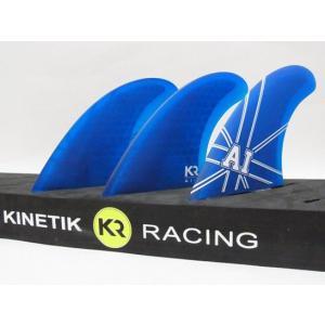 KINETIK RACING FIN・KRフィン/ULTRA COREシリーズ/ANDY ULTRA CORE・アンディアイアンシグネイチャーモデル/BLUE・ブルー/Mサイズ/65-80kg selfishsurf