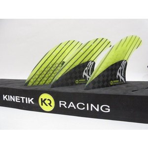 KINETIK RACING FIN・KRフィン/PHASE3シリーズ/PHASE3-SMALL/CARBONxLITE GREEN/Sサイズ/45-65kg selfishsurf