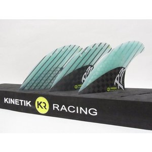 KINETIK RACING FIN・KRフィン/PHASE3シリーズ/PHASE3-MEDIUM/CARBONxBLUE/S-Mサイズ/55-75kg|selfishsurf