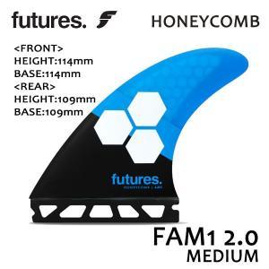 Future Fin,フューチャーフィン/FIN,トライフィン/RTM HEX FAM1 2.0/BLUE/BLACK/Mサイズ/AL MERRICK/サーフボードフィン/ショートボード/日本正規代理店品|selfishsurf