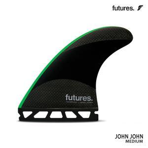 Future Fin,フューチャーフィン/トライフィン/John John Florenceシグネチャー/TECHFLEX 2.0 JOHN JOHN/BLACK/GREEN/Mサイズ/ショートボード/日本正規代理店品|selfishsurf