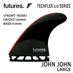 Future Fin,フューチャーフィン/トライフィン/John John Florenceシグネチャー/TECHFLEX 2.0 JOHN JOHN/BLACK/RED/Lサイズ/ショートボード/日本正規代理店品|selfishsurf