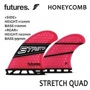 FuturesFin,フューチャーフィン/QUAD・4フィン/2019年先行発売/RTM HEX/STRETCH Quad(with 400 REAR)/BLK/PNK・ブラック×ピンク/日本正規代理店品|selfishsurf