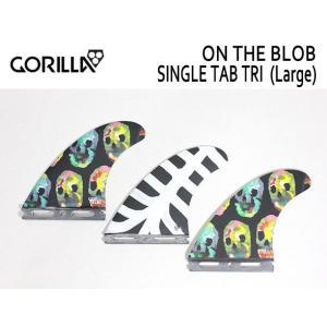GORILLA FIN/SINGLE TAB・FUTURE,フューチャータイプ/トライフィン/ON THE BLOB TRI FIN SET/Lサイズ/75-90kg|selfishsurf