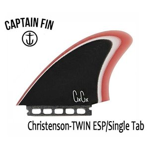 CAPTAIN FIN・キャプテンフィン/ツインフィン/クリステンソンシグネイチャー/Christenson TWIN  ESP・CFF2411701/SINGLE TAB・フューチャー/ファイバーグラス|selfishsurf
