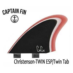 CAPTAIN FIN・キャプテンフィン/ツインフィン/クリステンソンシグネイチャー/Christenson TWIN  ESP・CFF3411701/TWIN TAB・FCS/ファイバーグラス|selfishsurf