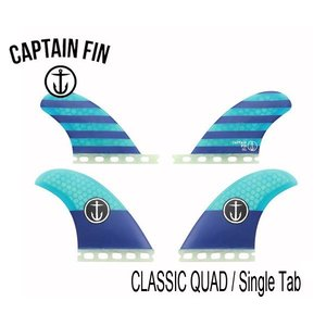 CAPTAIN FIN・キャプテンフィン/QUAD・4フィン/CF-QUAD FIN SINGLE TAB/FUTURES・フューチャータイプ/CFF2311500/BLUE・ブルー|selfishsurf