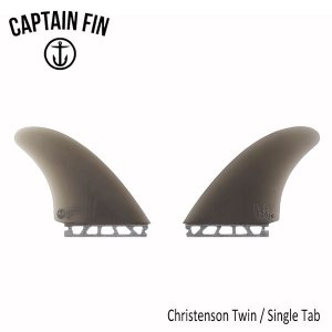 CAPTAIN FIN・キャプテンフィン/ツインフィン/クリステンソン/Christenson Twin ESP・CFF2412103/SMOKE/SINGLE TAB・フューチャー/ハニカム|selfishsurf